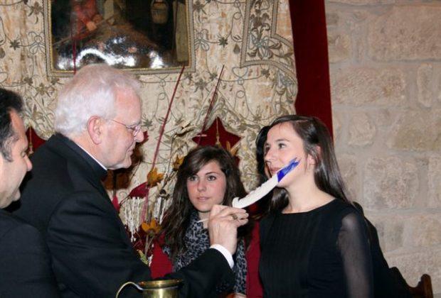 Santo Domingo de la Calzada Fiesta de la Gaita y el Tamboril pintada a