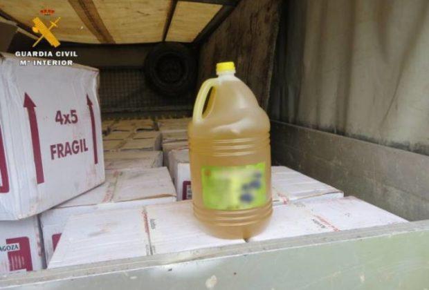 Aceite-interior-camion