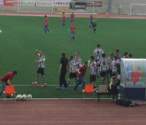 Palacios celebra el 1-0
