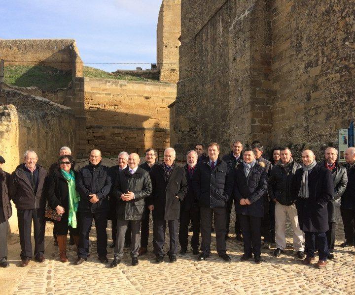 Visita Presidente muralla San Vicente 4
