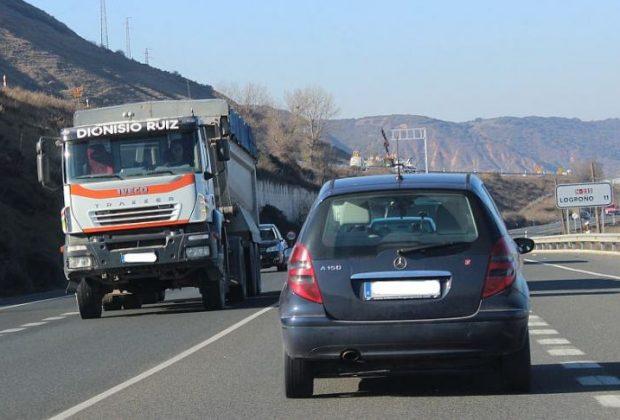 N-232 a su paso por La Rioja