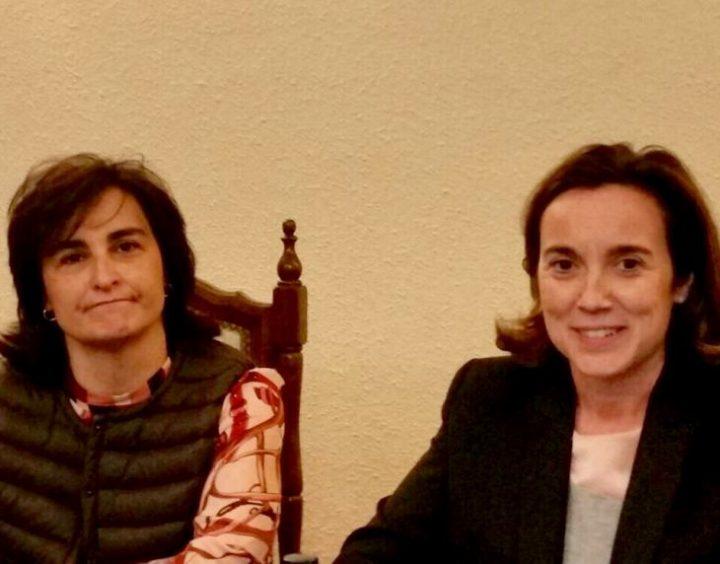 Cuca Gamarra y Lidia Arrieta