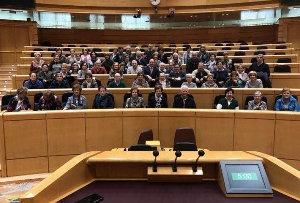 Vecinos de Santo Domingo visitan el Senado