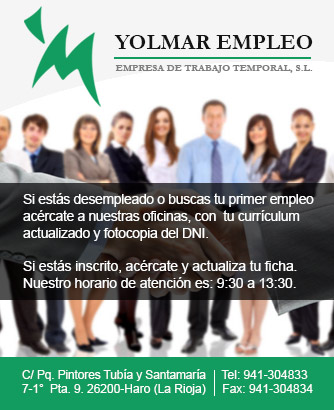 Yolmar Empleo, Empresa de trabajo temporal. S.L.