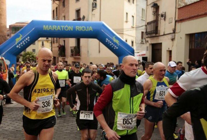 media maraton del camino