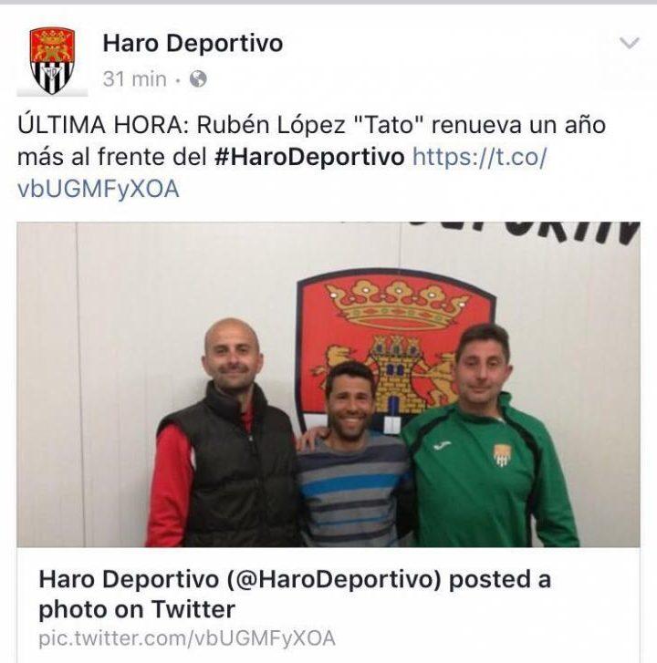 Haro Deportivo - Ruben Lopez