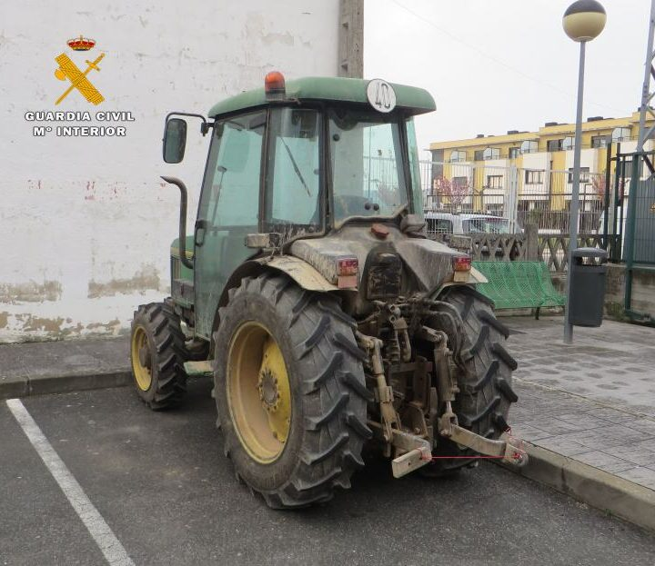 Tractor recuperado
