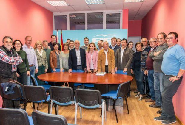 Reunión Santo Domingo del PP