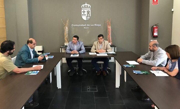 Carlos Cuevas present ayudas rehabilitación edificios en Haro