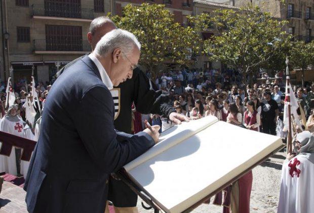 El Pte Gobierno inaugura las XXII jornadas medievales de Briones 04