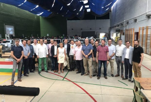 Inauguración Riojaprty