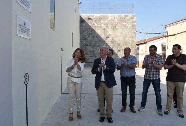 Inauguración plaza y remodelacion frontón antiguo VIllar de Torre