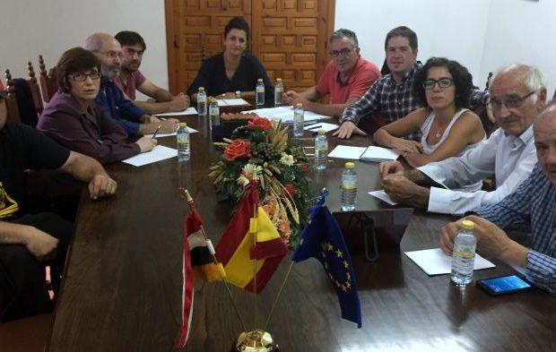 Bañares, reunión del PSOE