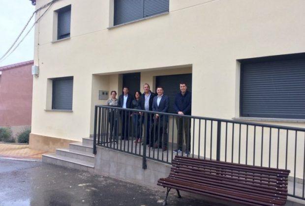 Visita nuevo albergue Cirueña