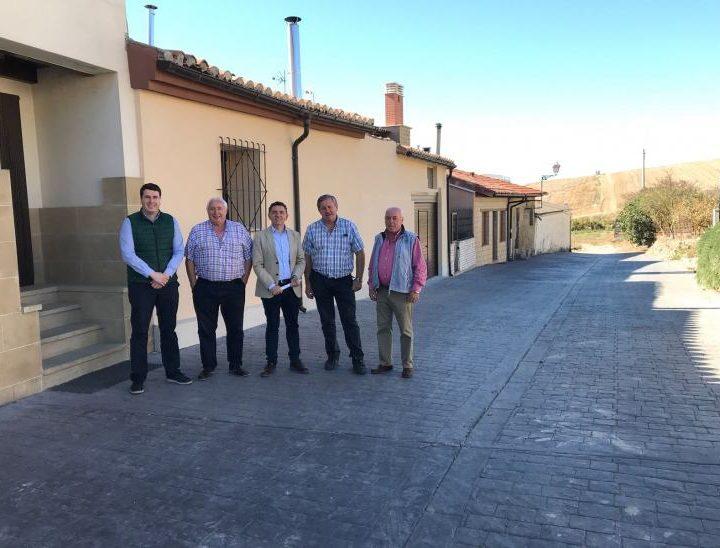Visita reurbanización calles Foncea