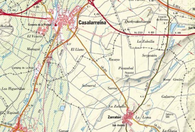 Mapa carretera Casalarreina