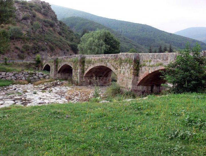 Puente sobre el Oja en Ezcaray