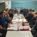 Foto reunión PSOE en Nájera