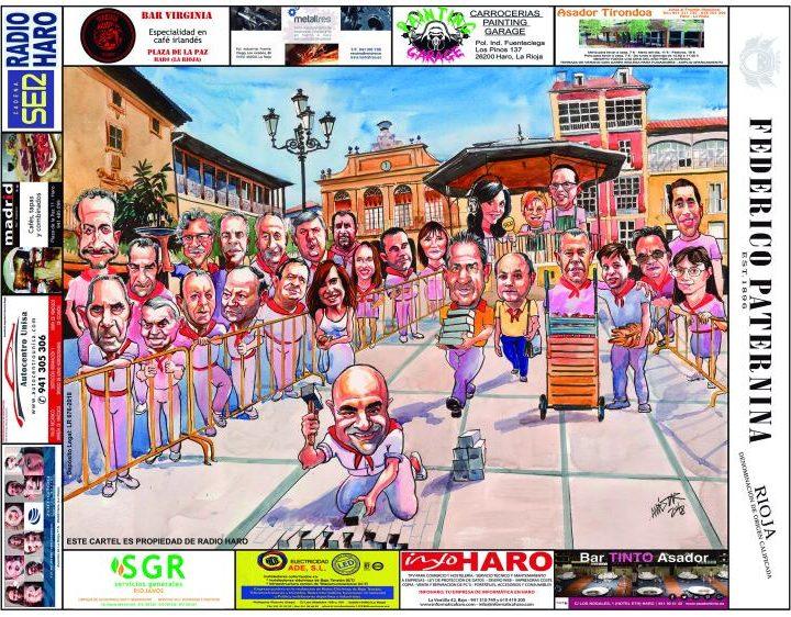 Cartel Caricaturas 2018