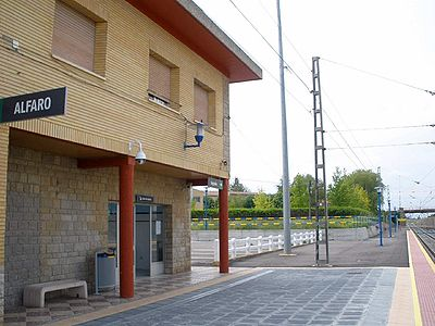 Alfaro_-_Estacion_de_tren