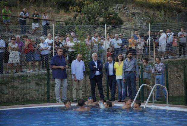 Inauguración piscinas Ventrosa