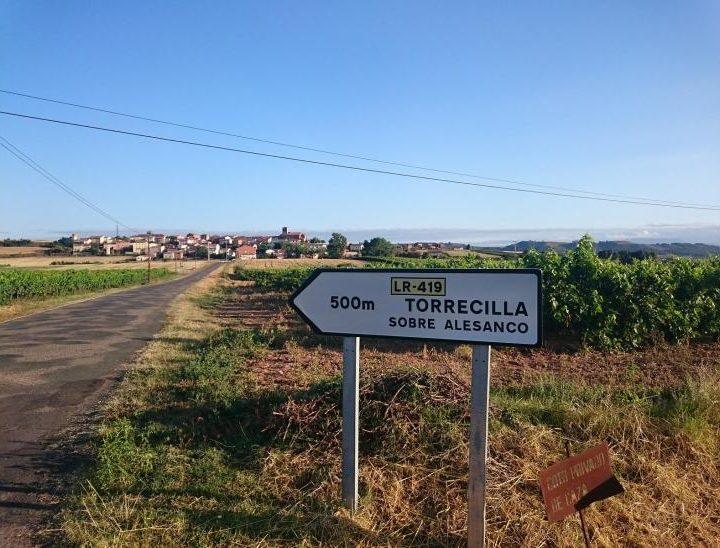 LR-419 en Torrecilla sobre Alesanco