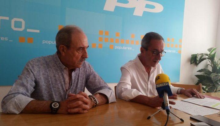 Alberto Olarte y JI Asenjo