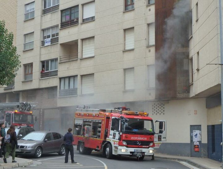 Fuego en Domingo Hergueta