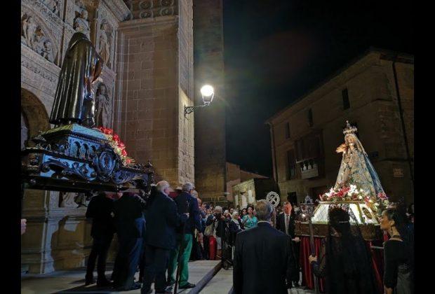 Rosario de Faroles de Cristal bajo la mirada de María Orive y Luis Brox