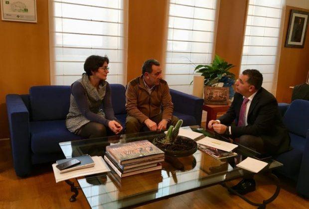 Encuentro alcalde Alesón