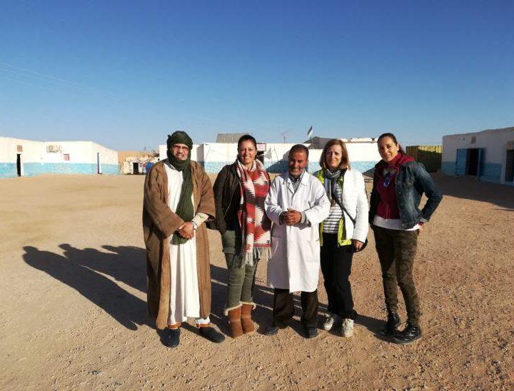 Sobrón en el Sahara