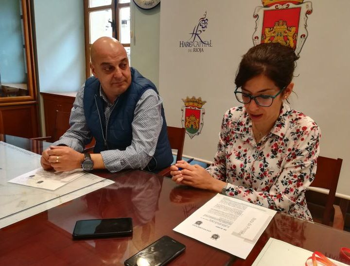 Laura Rivado y Leopoldo García