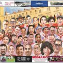 Cartel de caricaturas 2019