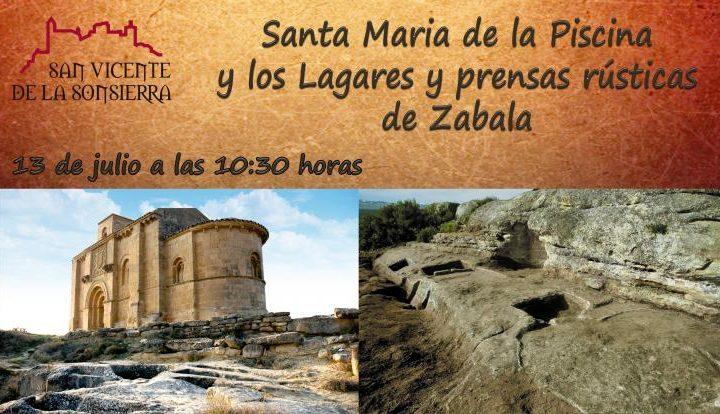 SANTA MARIA DE LA PISCINA 13 DE JULIO