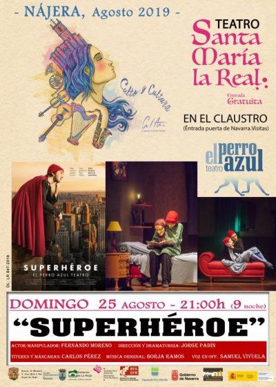 Cartel definitivo Superhéroe
