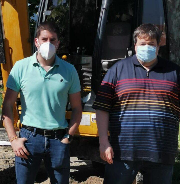 Carlos Barrón y Raúl Riaño