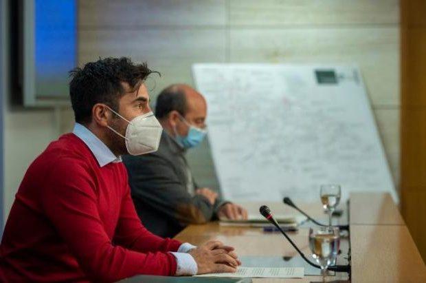 El consejero de Sostenibilidad y Transición Ecológica, Álex Dorado Nájera