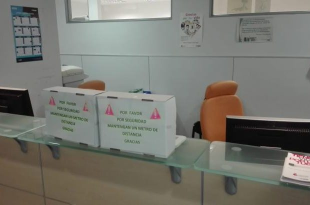 Zona admsión Hospital San Pedro